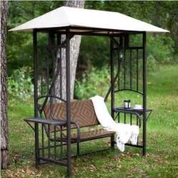 outdoor glider swing with canopy gazebo canopy swing outdoor patio furniture metal wicker
