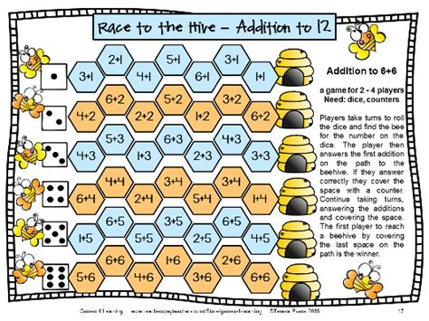printable board games for addition fun games 4 learning math games makeover