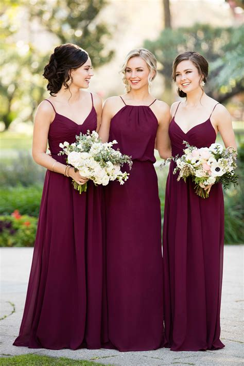 Wedding Dresses And Bridesmaid Dresses by Trend We Burgundy Bridesmaid Dresses
