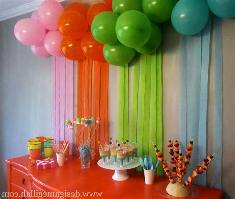 birthday party decoration at home exceptional easy birthday decoration ideas at home 8 known