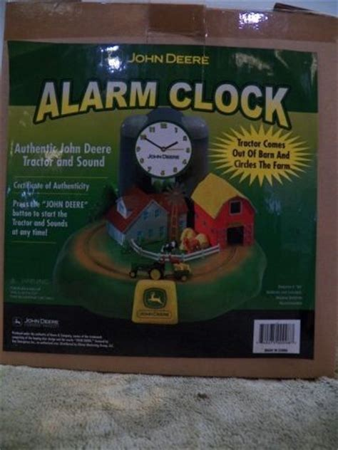 deere alarm clock