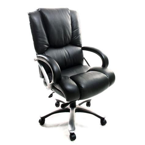 fauteuil bureau cuir fauteuil de bureau cuir noir titus achat vente chaise