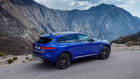 Wall Car Wallpaper Hd by Blue Jaguar F Pace 2017 Car Hd Wallpaper Hd Wallpapers