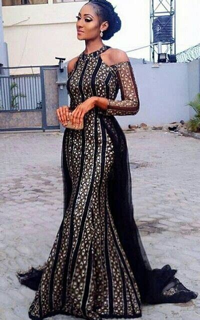 lace african print dress pinterest this style for red and black material naija fashion