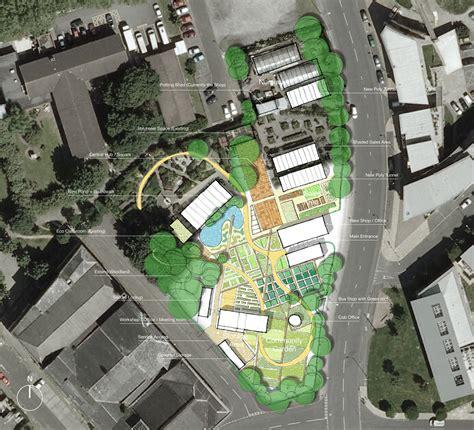 garden centre layout design hulme community garden centre urbed