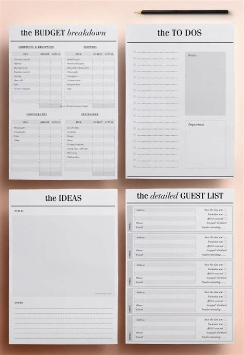 Wedding Planner Organizer by The 25 Best Wedding Planner Organizer Ideas On
