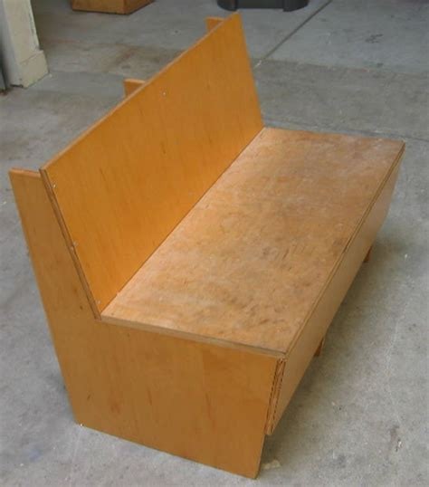 plywood bench instant furniture 9