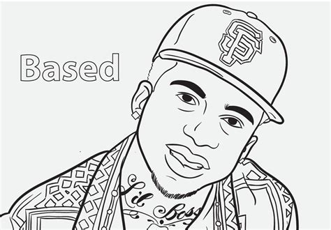 coloring book rapper free coloring pages of rapper