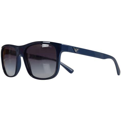 Emporio Armani Sunglasses by Emporio Armani Emporio Armani Sunglasses Blue Wayfarer