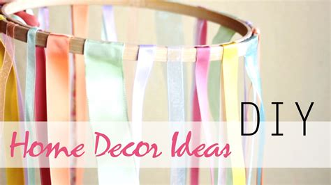 easy diy home decor ideas diy 3 easy summer home decor ideas