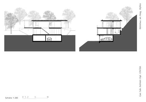 slope house gallery of house on a slope gian salis architect 3