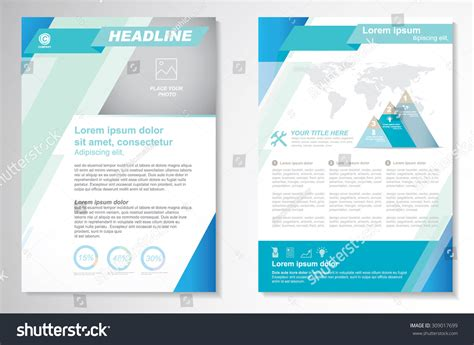 stock layout templates vector brochure flyer design layout template size a4