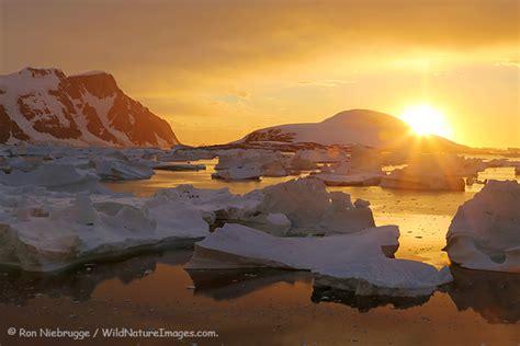 Antarctica Sunset - Photo Blog - Niebrugge Images