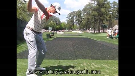 iron swing slow motion adam scott iron swing slow motion youtube
