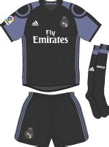 Official Real Madrid 3rd 1617 real madrid 4