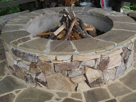 Firepit Stones Outdoor Fireplaces Pits Chimneys Ambrose Landscapes Outdoor Stonework In