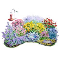 plan plants for a butterfly attracting perennial border garden pinterest gardens in the