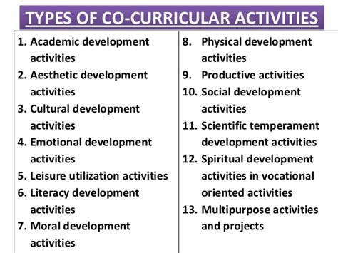 research paper on co curricular activities importance of co curricular activities in students