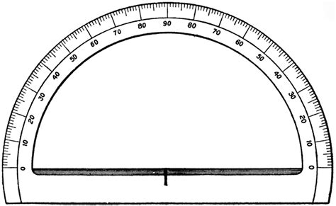 protractor print out 360 printable protractor with 360 degrees clipart best