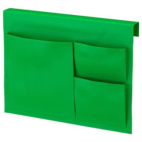 bed pocket stickat bed pocket green 39x30 cm ikea