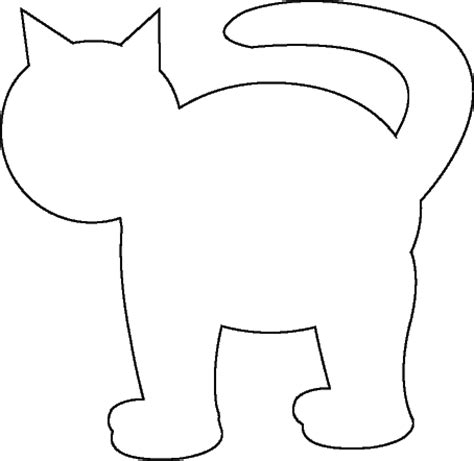 cat template cat template preschool ideas