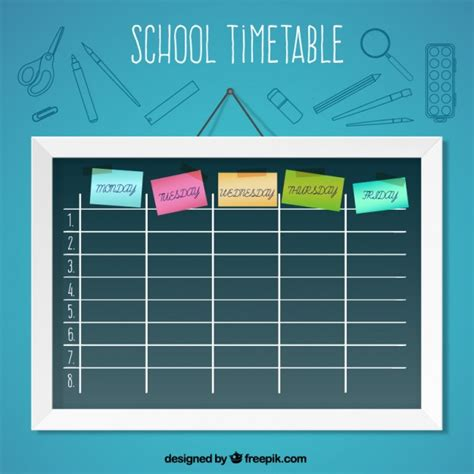 timetable school template image gallery timetable