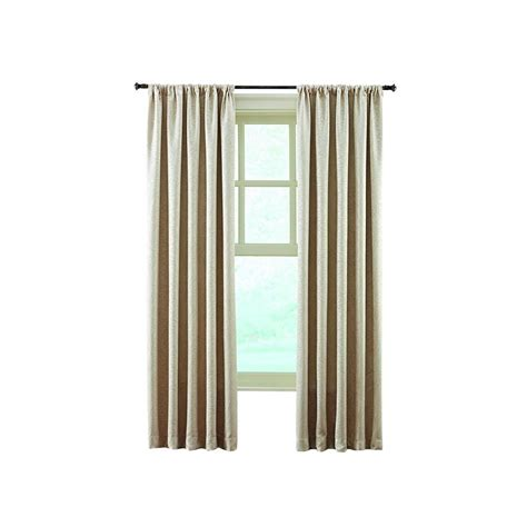 home decorators collection sheer sand rod pocket printed home decorators collection sand stylized scroll embossed