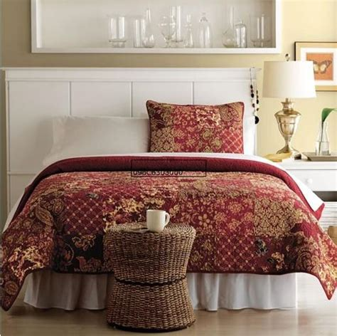 Patchwork Quilt King Size - patchwork quilt bedding set cotton with
