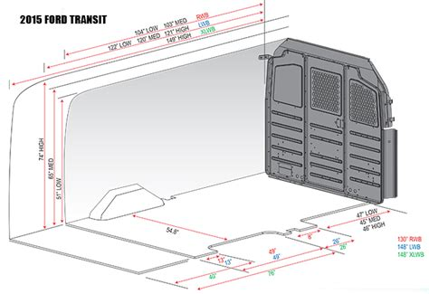 Ford Transit Interior Dimensions by Size Ford Transit Interior Dimensions Pictures To Pin