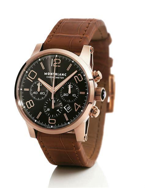 Alba At3382 Rosegold Brown Leather Original montblanc 101565 watches montblanc timewalker watches at