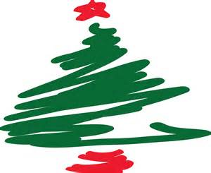 Freehand christmas tree drawing free stock photo public domain