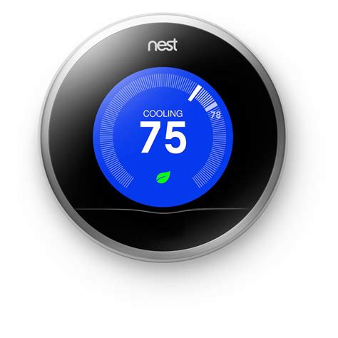 UPC 854448003068   Nest Stainless Steel 2nd Generation Learning Thermostat   upcitemdb.com