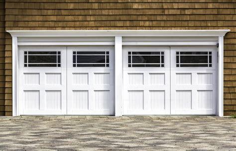 Wood Panel Windows Designs 60 Residential Garage Door Designs Pictures