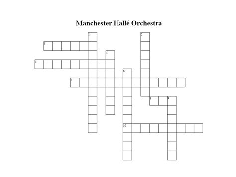 orchestra section crossword quot manchester hall 233 orchestra quot crossword go unesco gounesco