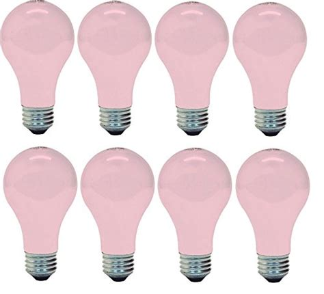 soft pink light bulbs ge lighting 97483 ge light 60w soft pink 8 bulbs