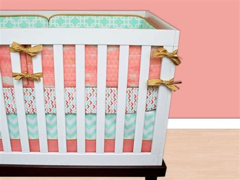 Salmon Crib Bedding 25 Best Ideas About Coral Baby Bedding On Coral Baby Rooms Baby Nursery And