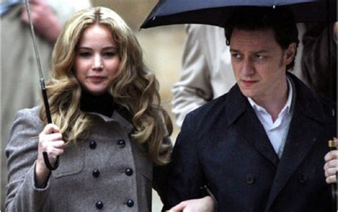 james mcavoy and jennifer lawrence let s talk x men first class the factory