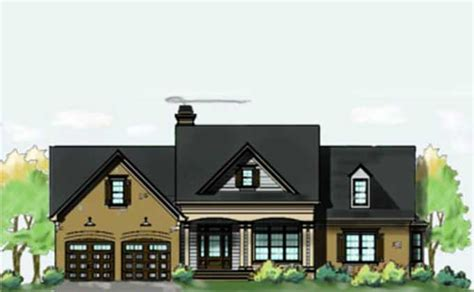 brick lake house plan with an open living floor plan lake brick lake house plan with an open living floor plan