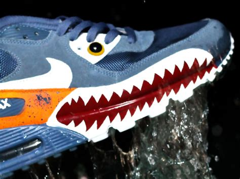 Nike Air Max 90 Piranha Custom by Nike Air Max 90 Quot Piranha Quot Customs By Emilio Zuniga