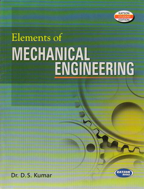elements of mechanical engineering book by d s kumar buy