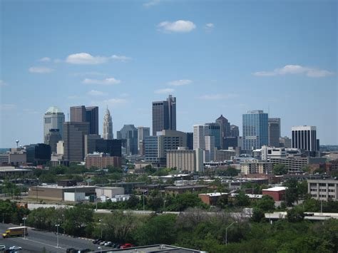 file columbus skyline as seen from children s hospital jpg