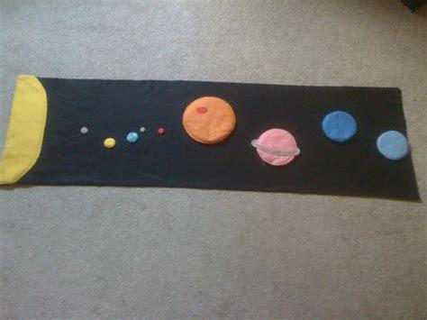 Planet Mat by Homeschool Escapade Felt Space Mat Tutorial Planet Ratios