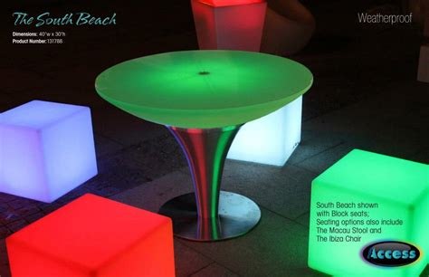 led outdoor table lights south led table 1 pool store in america