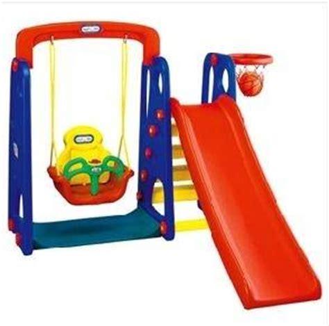Low Profile Baby Swing Sell Park Slide Swing Set