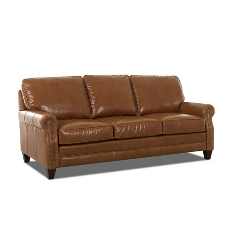 leather sofa discount comfort design cl7020 dqsl camelot leather sleeper sofa