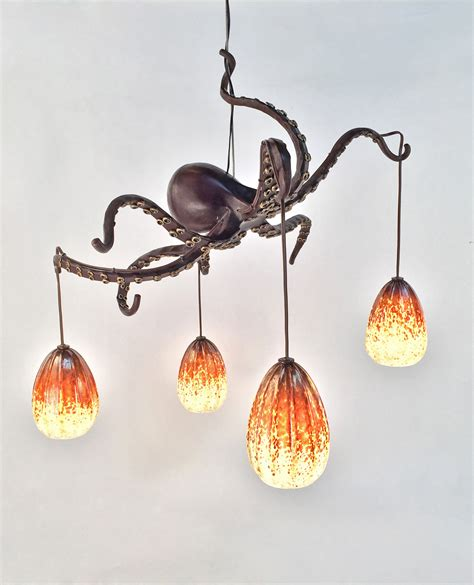 Octopus Chandelier Mini Me Daniel Hopper Design Octopus Light Fixture