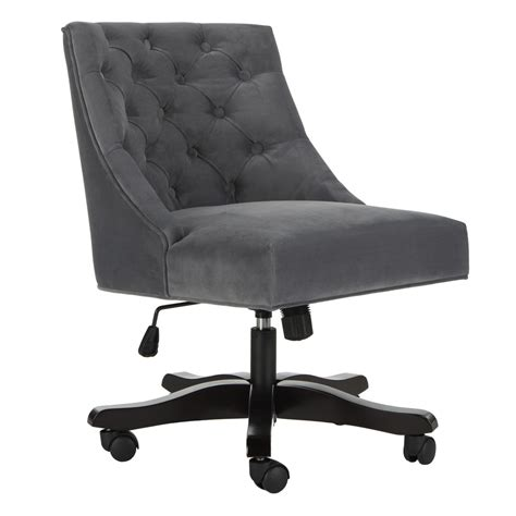 safavieh belinda desk chair mcr1030b desk chairs furniture by safavieh