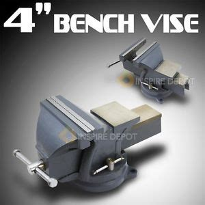 best bench vise for the money table top 4 quot bench swivel mechanics vise cl press metal