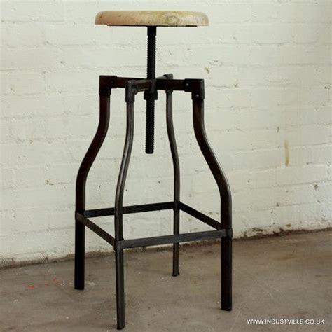 Jarie Black Chestnut Metal Wood Adjustable Stool by Best 25 Adjustable Stool Ideas On Adjustable
