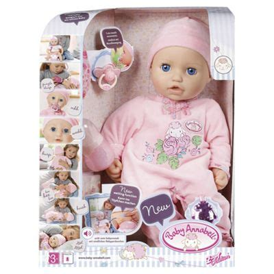 annabelle doll where to buy buy baby annabell doll from our baby dolls range tesco